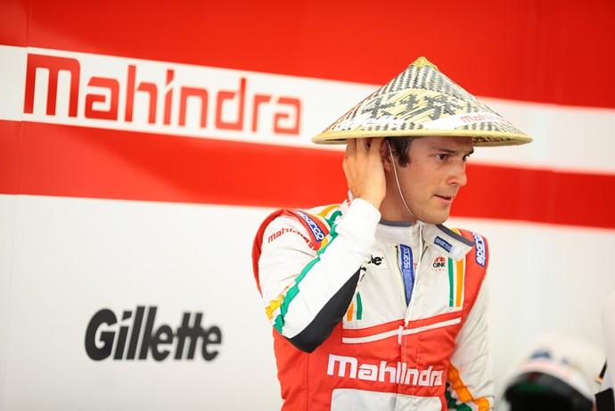 Bruno Senna, da equipe Mahindra, da Fórmula E (Foto: Divulgação)