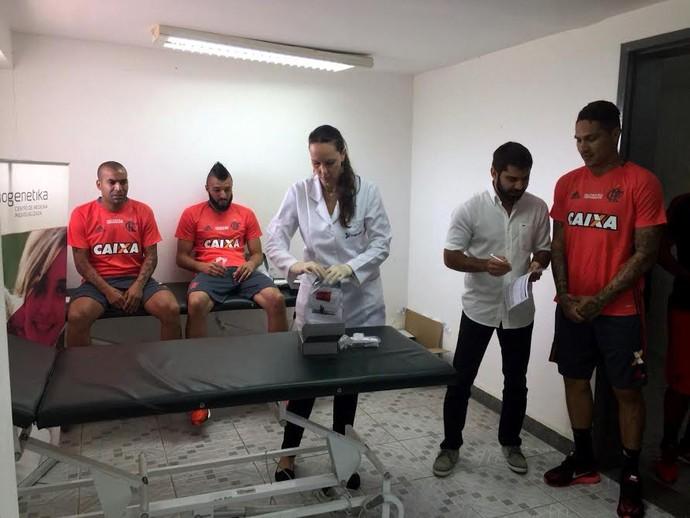 Guerrero Flamengo Biogenetika (Foto: Divulgação)