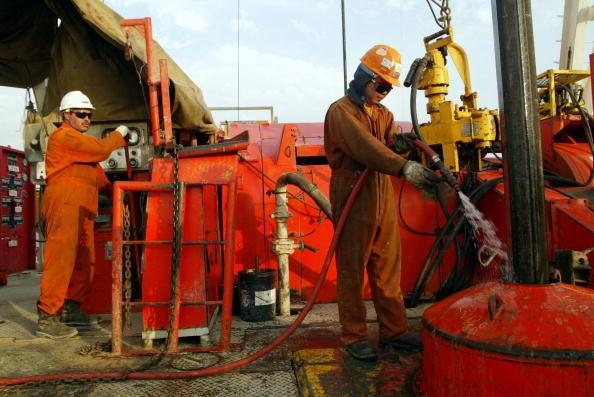Campo de produção de petróleo no Kuwait (Foto: Getty Images)
