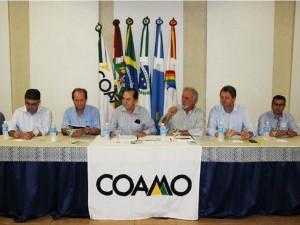 Assembleia da Coamo que definiu investimentos em MS (Foto: Marcelo Armôa/Semade)