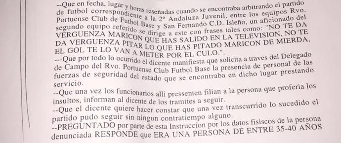 Jesus Tomillero registrou boletim de ocorrência (Foto: Arquivo Pessoal)