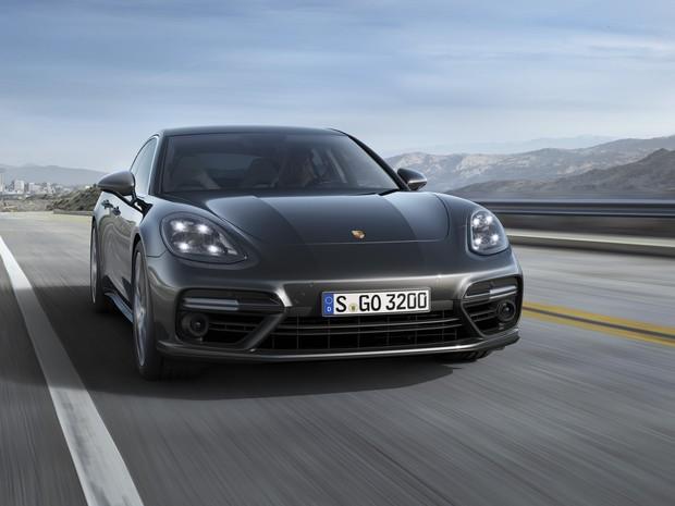 Nova geração do Porsche Panamera (Foto: Divulgação)