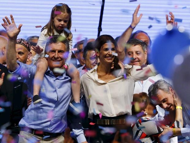 Macri venceu com pouco mais de 51% dos votos dos argentinos (Foto: Reuters)