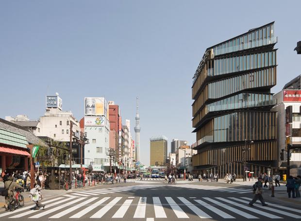 kengo-kuma-centro-cultural-de-asakusa (Foto: Reprodução/Takeshi Yamagishi/Kengo Kuma and Associates)