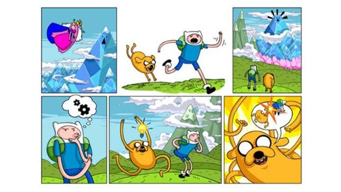 Jake tem um plano inusitado para salvar a Princesa Jujuba em Jumping Finn (Foto: Divulgação)