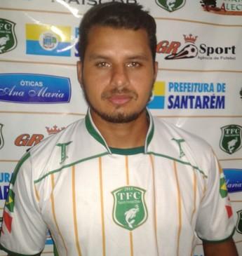 Bruno Prado, zagueiro do São Francisco (Foto: Divulgação/Tapajós Futebol Clube)