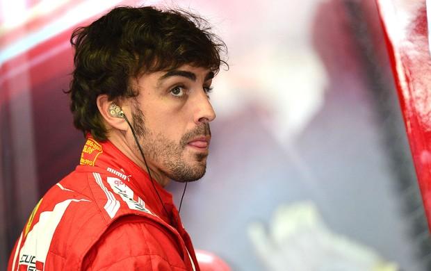 Fernando Alonso treino Monza GP da Itália (Foto: AFP)