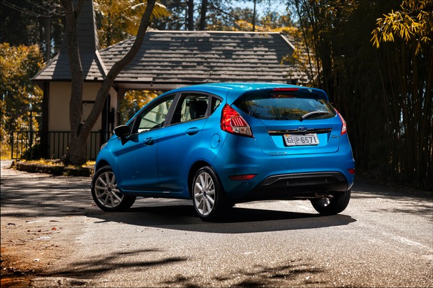 Novo Ford Fiesta Titanium (Foto: Leo Sposito)