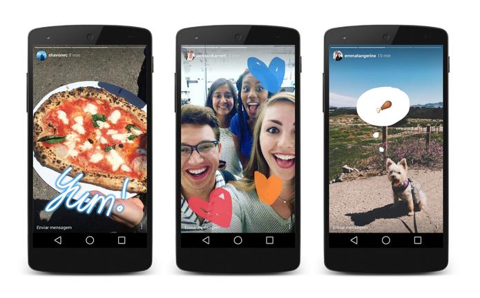Instagram Stories: novo recurso do Instagram imita Snapchat (Foto: Reprodução/Instagram)