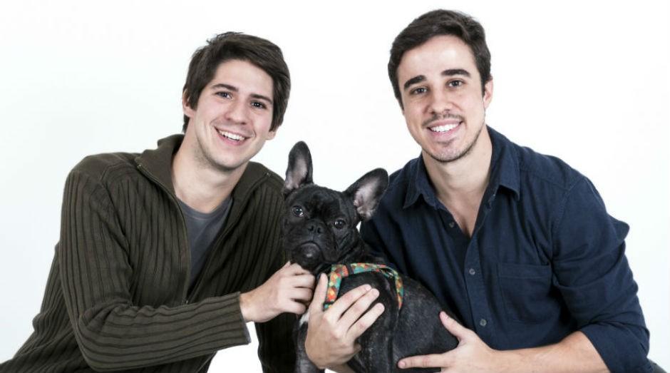 Amigos de infância criaram plataforma online que reúne serviços para pets. (Foto: Divulgação)