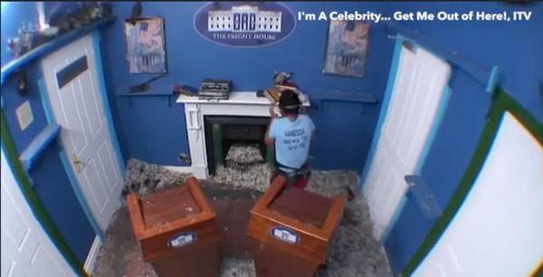 Cena do reality I'm a Celebrity... Get Me Out of Here (Foto: reprodução)
