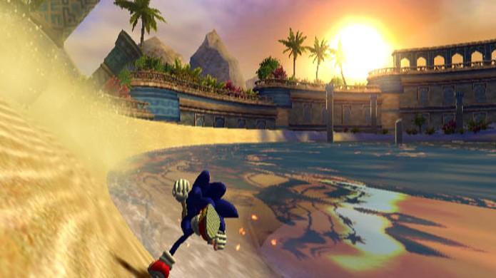 Sonic and the Secret Rings tinha um certo charme, mas uma jogabilidade não muito próxima de um jogo de Sonic (Foto: Reprodução/GameKult)
