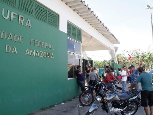Campus da Universidade Federal Rural da Amazônia (UFRA), em Belém. (Foto: Ary Souza/O Liberal)