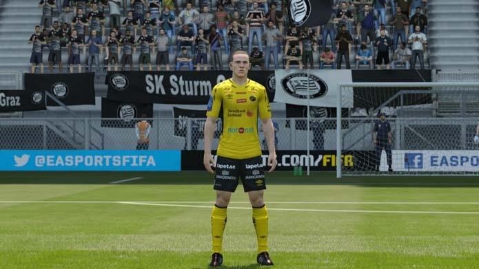 Camisa do Elfsborg e seus patrocinadores (Foto  Reprodução Murilo Molina) 099d310f3594c