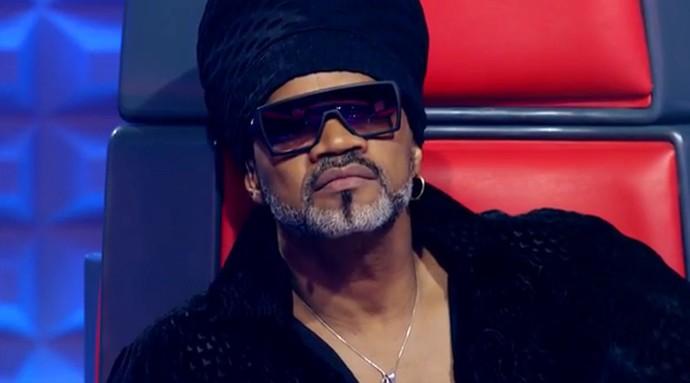 Carlinhos Brown aparece surpreso com as performances do The Voice Kids (Foto: Tv Globo)