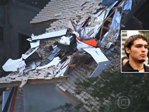 [Montagem Manchete wide] Thomaz Alckmin, filho mais novo de Geraldo Alckmin, morre em queda de helicóptero na Grande SP (Foto: Reprodução/TV Globo; Beto Barata/Estadão Conteúdo/Arquivo)