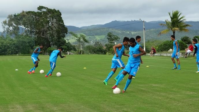 treino porto-pe 09/14 (Foto: André Ráguine / GloboEsporte.com)