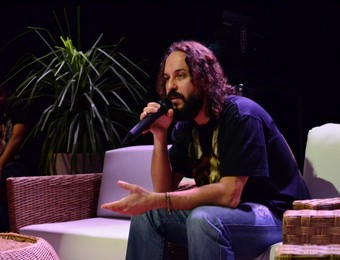 Gabriel O Pensador (Foto: Danilo Sardinha/GloboEsporte.com)