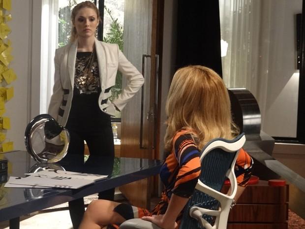 Megan pede para Pamela tirar Manu da Marra (Foto: Geração Brasil/TV Globo)