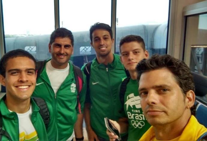 Tiro com arco- seleção brasileiro (Foto: Divulgação)
