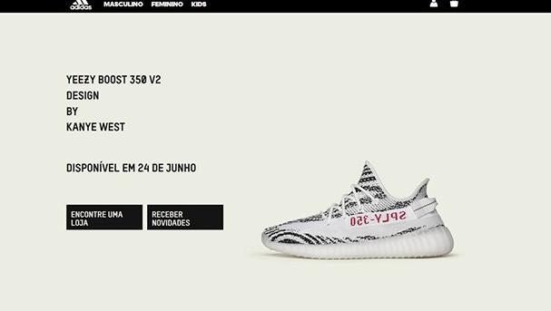 Tênis da Adidas (Foto: Reprodução)