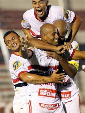 Nunes, atacante do Botafogo-SP (Foto: Thiago Calil/Botafogo FC)