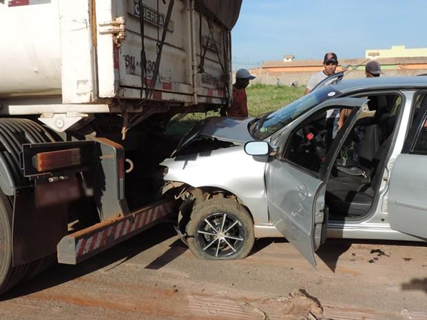 Acidente Luis Eduardo Magalhães Bahia (Foto: Sigi Vilares/Blog do Sigi Vilares)