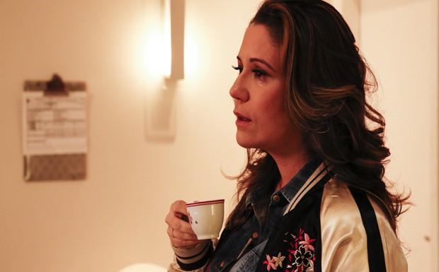 Maria Rita se emociona na estreia do TV Mulher