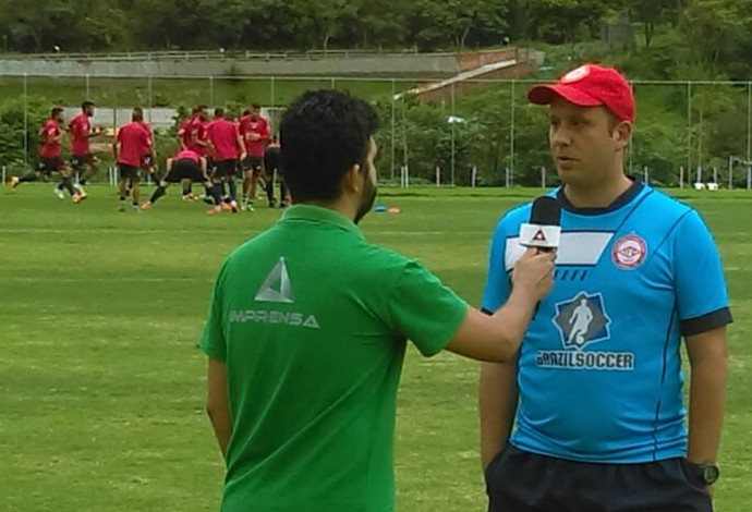 Raul Cabral Tombense técnico 2016 (Foto: Divulgação/AV Assessoria de Imprensa)