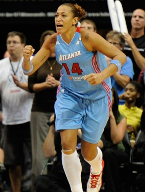 Basquete WNBA - Erika Souza Atlanta Dream (Foto: Getty Images)