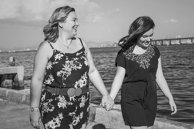 Wilsa Atella, da Ambidados, e a filha Sabrina (Foto: Marcelo Correa / Editora Globo)