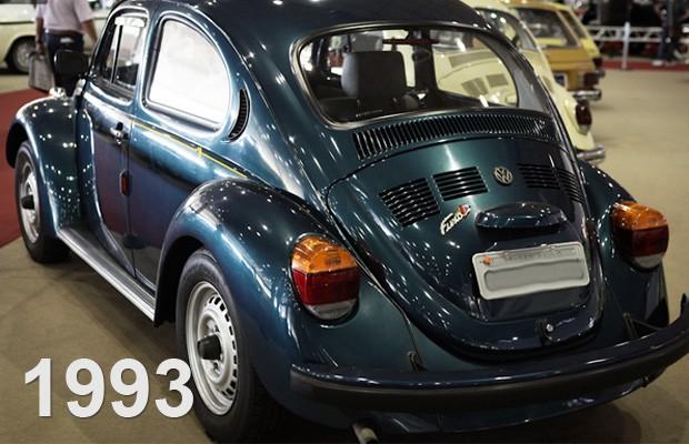 Fusca 'Itamar' exposto no Salão de Veículos Antigos em 2012 (Foto: Caio Kenji/G1)