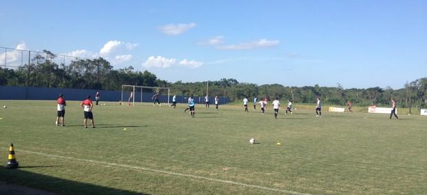 Joinville treina para a partida contra a Chapecoense (Foto: Divulgação/JEC)