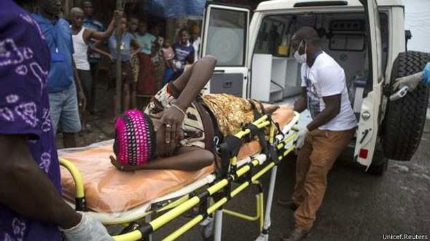 Novos casos de ebola dobram a cada três semanas em Serra Leoa, diz ONG  (Foto: Unicef/Reuters)
