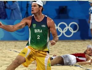 Fábio Luiz  em Pequim (Foto: AFP)