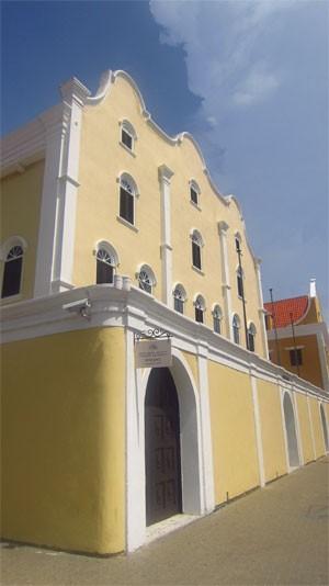Sinagoga (Foto: Leandra Felipe/G1)