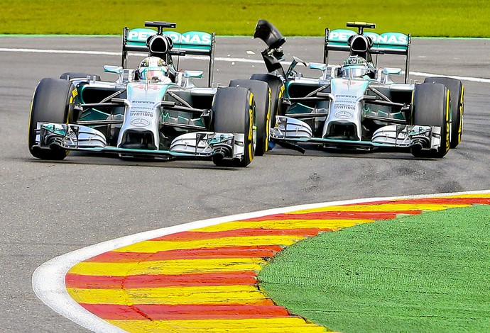 Nico Rosberg e Lewis Hamilton F1 (Foto: Efeservicios)