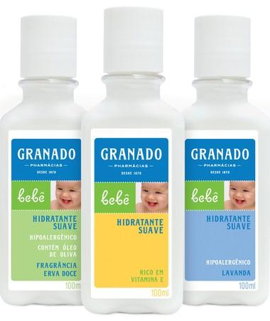 Hidratante Suave Granado: com óleo de oliva e vitamina E  (Foto: Divulgação)
