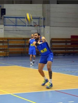 Maurício Borges treino Brasil vôlei (Foto: Reprodução / Instagram)