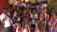 Família dividida entre Bahia e Vitória fala sobre expectativas para o Ba x Vi