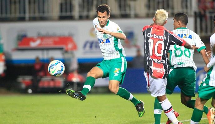 Joinville Chapecoense (Foto: Ag Estado)