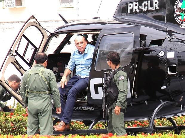 Prefeito de Santa Inês (MA) foi preso no fim de janeiro (Foto: Biné Morais / O Estado)