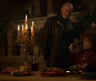 Charles Dance e Peter Dinklage em cena de 'Game of thrones' | Reprodução