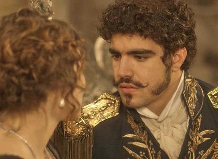 Pedro tenta seduzir Leopoldina