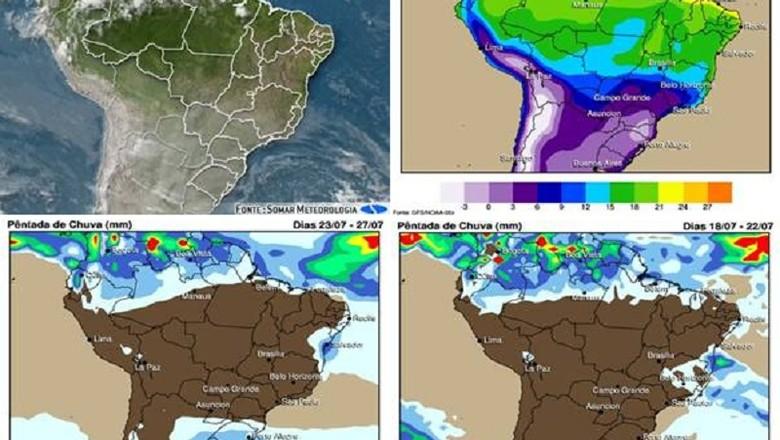 agricultura-meteorologia-chuva (Foto: Somar Meteorologia)