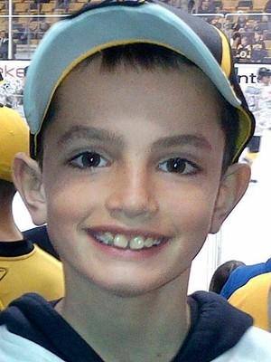 O menino Martin Richard foi a vítima mais nova morta no atentado da Maratona de Boston, em 2013. Ele tinha 8 anos (Foto: Arquivo/AP)