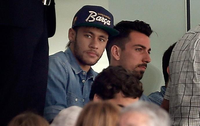 Neymar, Elche x Barcelona (Foto: EFE)