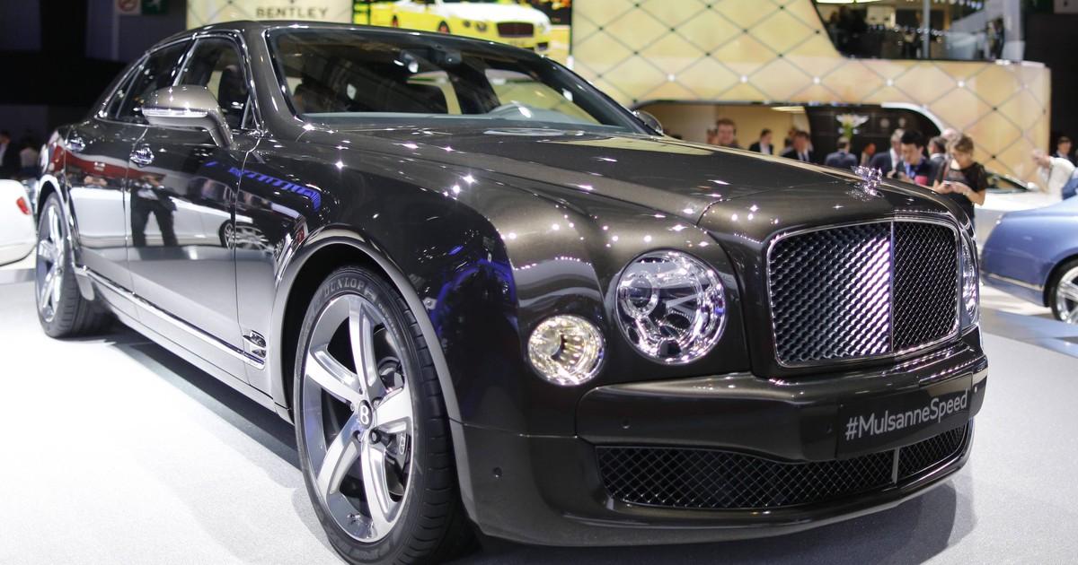 70d65ba79 Auto Esporte - Mulsanne Speed é o Bentley mais caro da história; conheça