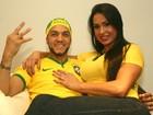 Famosos fazem suas apostas para a disputa entre Brasil e Colômbia