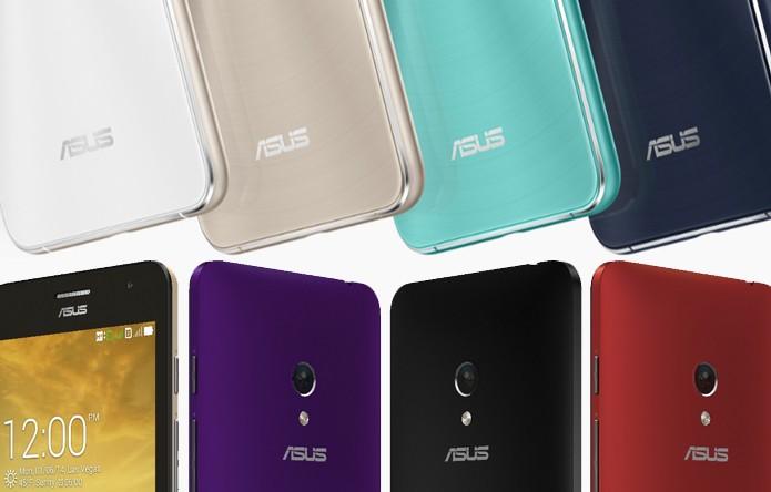 Asus apresentou novos Zenfones com mudanças importantes no design e ficha técnica (Foto: Reprodução/Elson de Souza)
